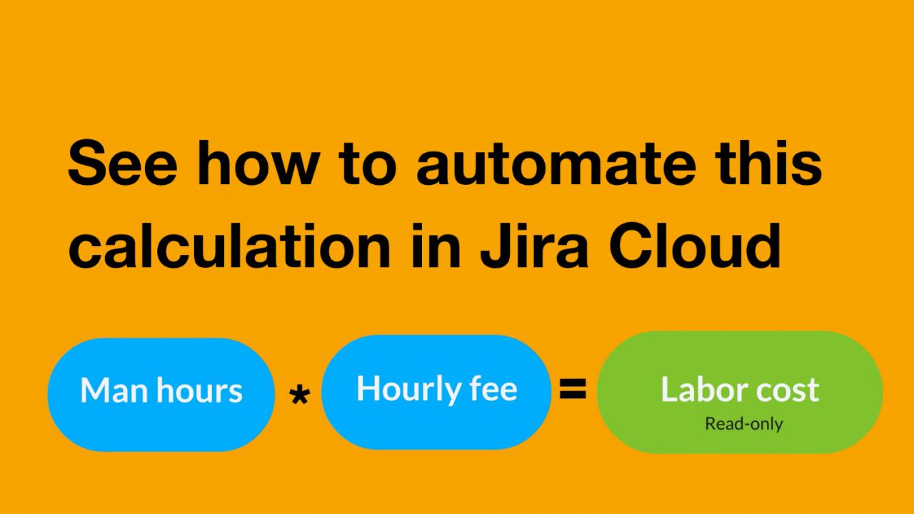 Calculated Fields in Jira Cloud