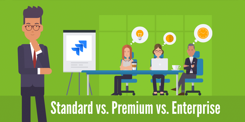 Jira Standard vs Premium vs Enterprise