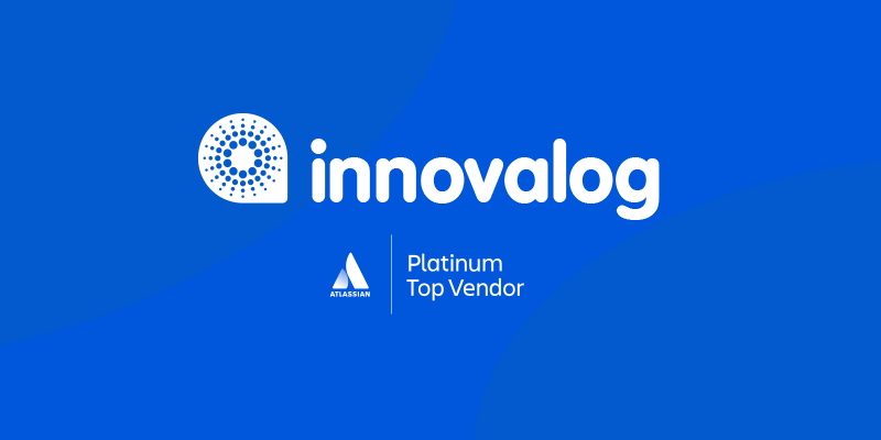 Innovalog is Atlassian Platinum Top Vendor