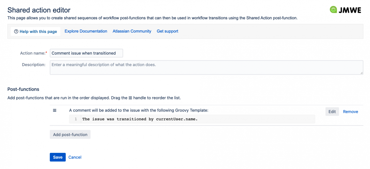 Reuse post-function configurations across your automation (Jira Server/Data Center)