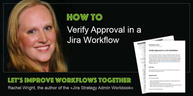 Verify approval in a Jira workflow